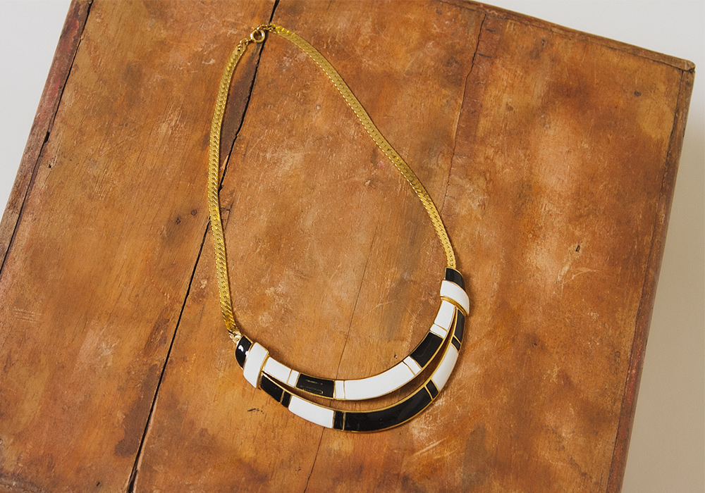 TRIFARI Monotone Impact Necklace