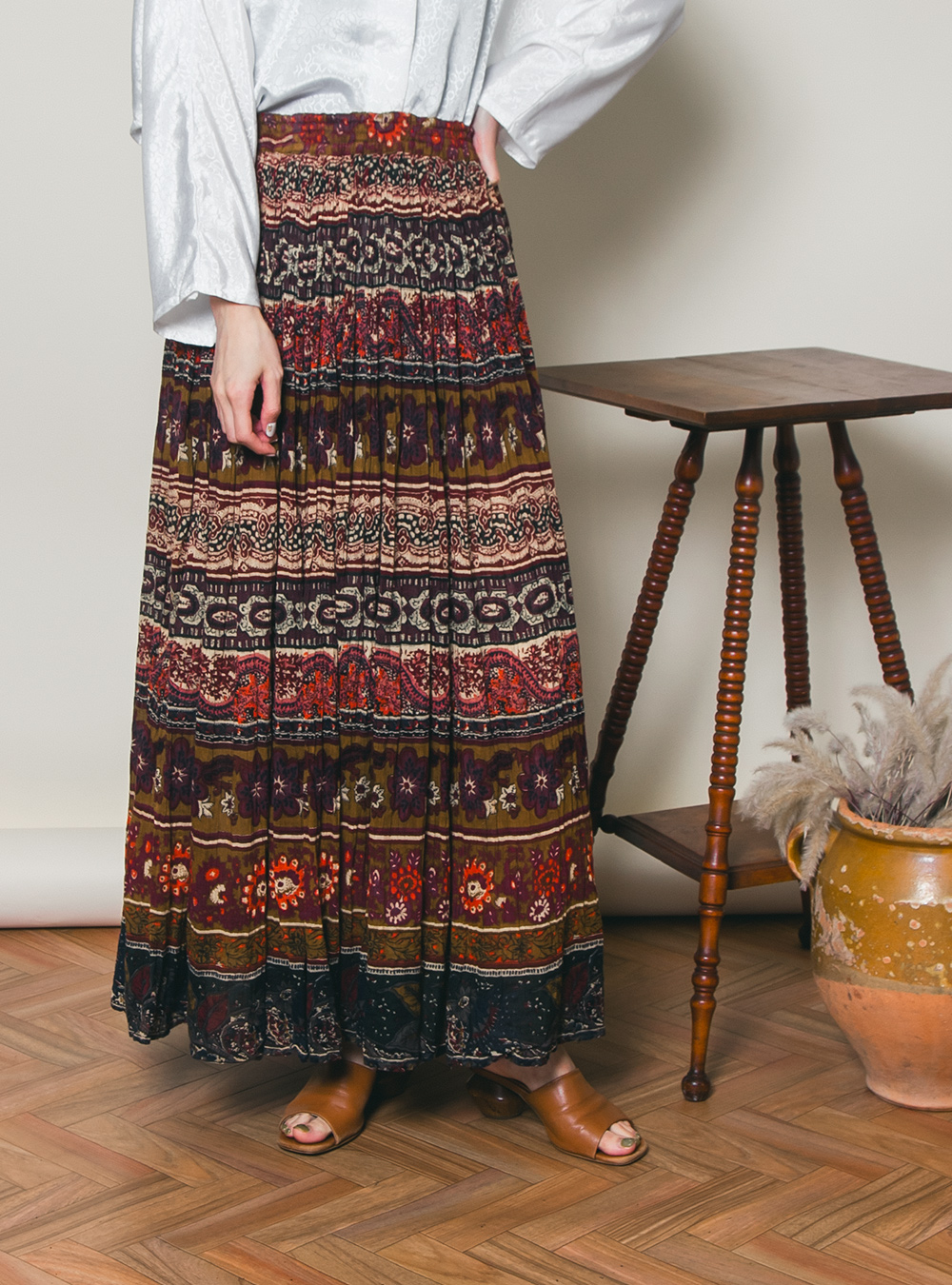 Ethnic Indian Cotton Skirt