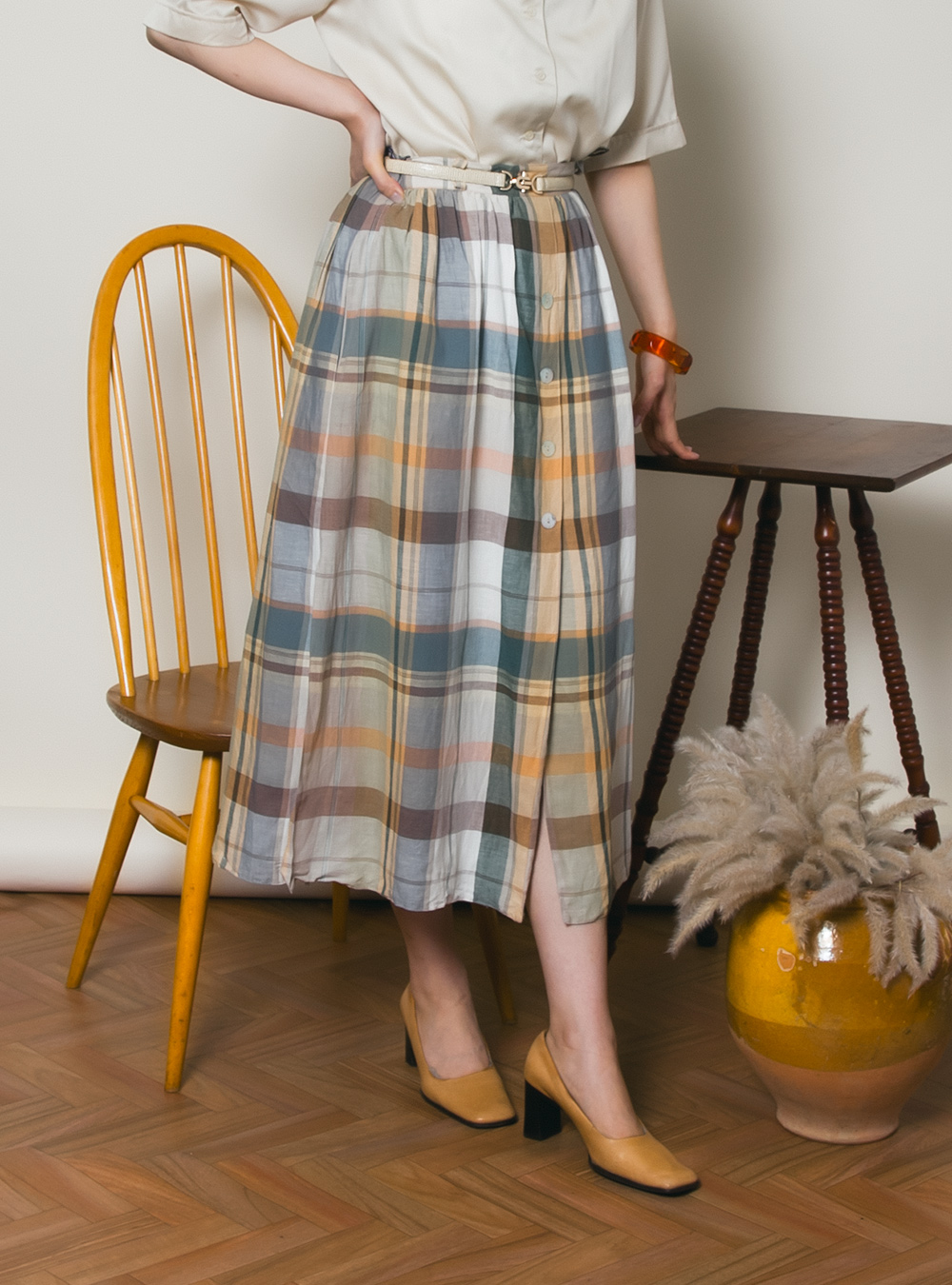 EURO Design Check Skirt