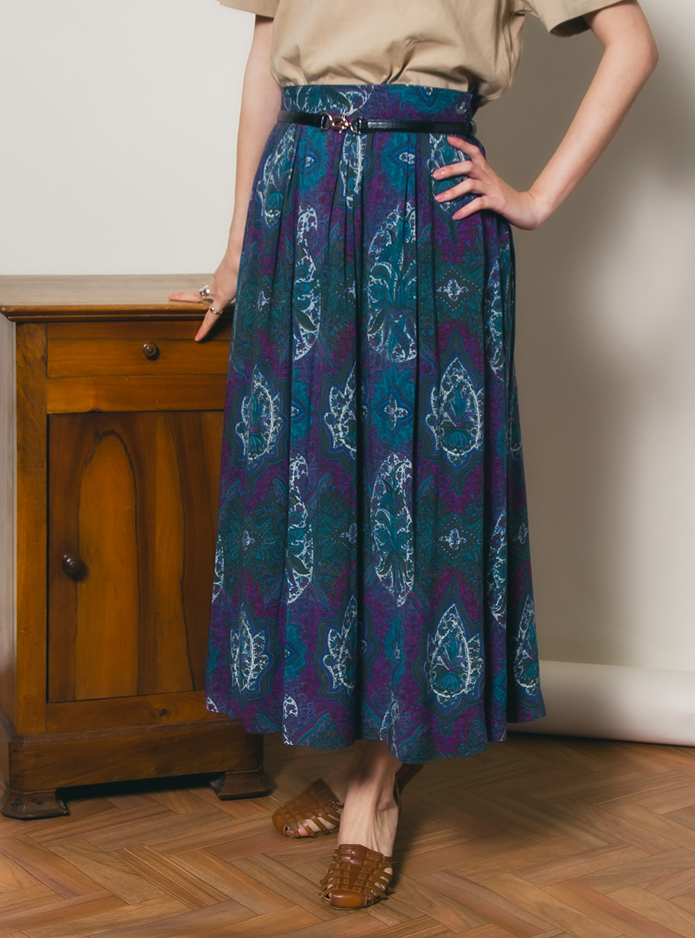 Ethnic Design Skirt