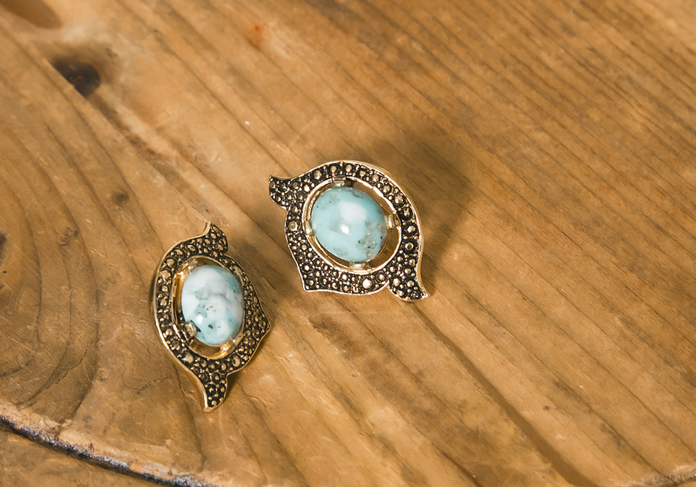 Turquoise Blue Earring