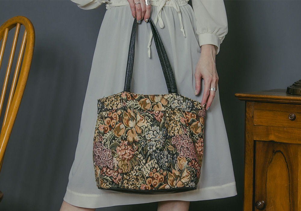 Flower Gobelin Tote Bag