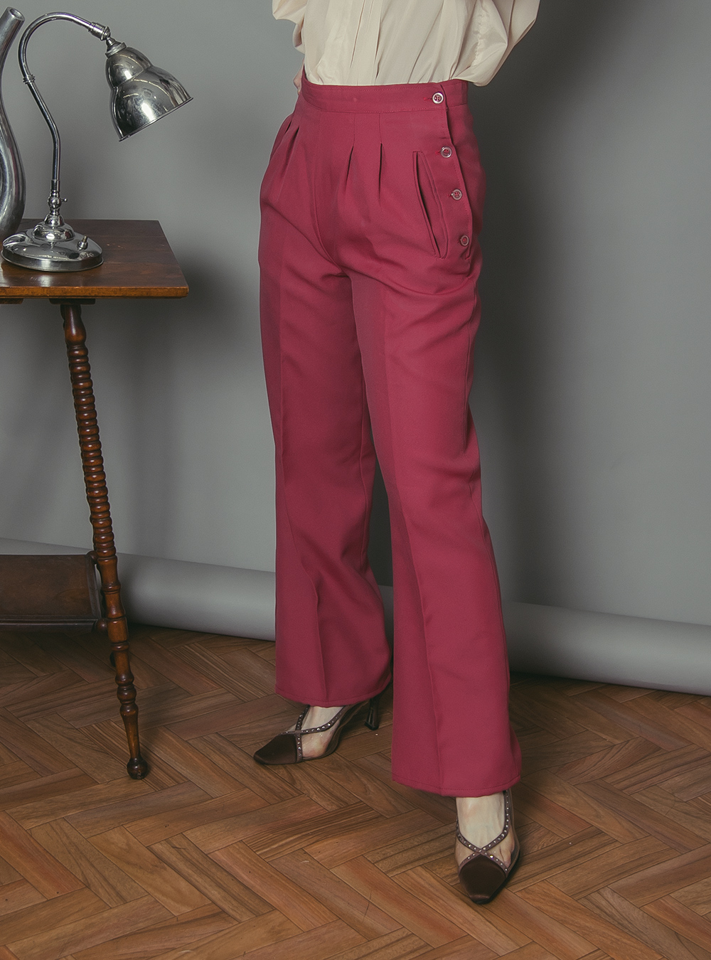 1970's Dusty Pink Pants